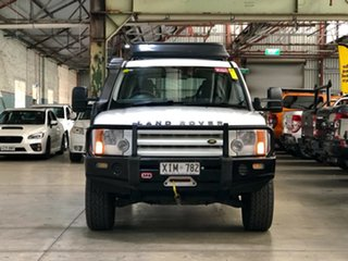 2005 Land Rover Discovery 3 S White 6 Speed Sports Automatic Wagon.