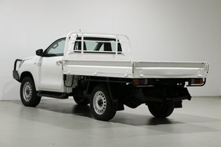2015 Toyota Hilux GUN126R SR (4x4) White 6 Speed Manual Cab Chassis