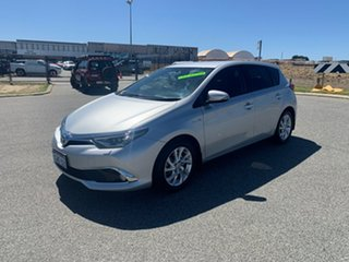 2018 Toyota Corolla ZWE211R Ascent Sport Hybrid Silver Continuous Variable Hatchback.