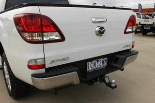 2013 Mazda BT-50 UP0YF1 XTR White 6 Speed Sports Automatic Utility.