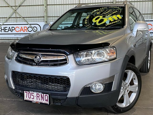 Used Holden Captiva CG Series II 7 AWD LX Rocklea, 2011 Holden Captiva CG Series II 7 AWD LX Silver 6 Speed Sports Automatic Wagon