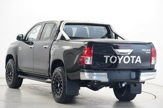 2020 Toyota Hilux GUN126R SR5 Double Cab Black 6 Speed Sports Automatic Utility