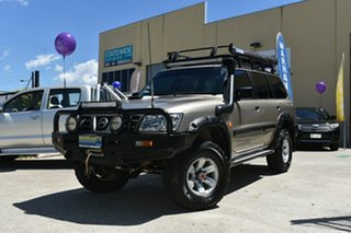 2002 Nissan Patrol GU III ST Plus (4x4) 5 Speed Manual Wagon.