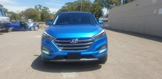 2017 Hyundai Tucson TLe MY17 Highlander D-CT AWD Blue 7 Speed Sports Automatic Dual Clutch Wagon