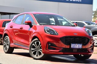 2020 Ford Puma JK 2020.75MY ST-Line Lucid Red 7 Speed Sports Automatic Dual Clutch Wagon.
