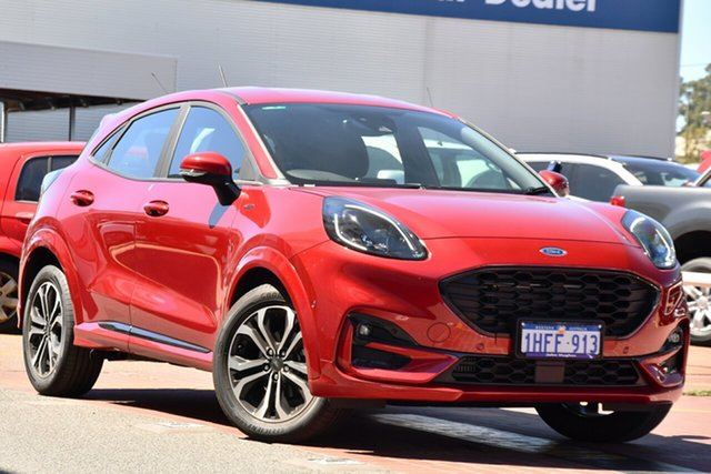 Used Ford Puma JK 2020.75MY ST-Line Victoria Park, 2020 Ford Puma JK 2020.75MY ST-Line Lucid Red 7 Speed Sports Automatic Dual Clutch Wagon