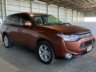 2013 Mitsubishi Outlander ZJ MY13 Aspire 4WD Bronze 6 Speed Sports Automatic Wagon.