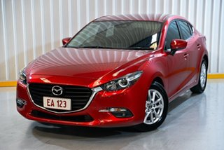 2016 Mazda 3 BM5278 Touring SKYACTIV-Drive Red 6 Speed Sports Automatic Sedan.