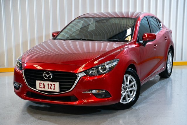 Used Mazda 3 BM5278 Touring SKYACTIV-Drive Hendra, 2016 Mazda 3 BM5278 Touring SKYACTIV-Drive Red 6 Speed Sports Automatic Sedan