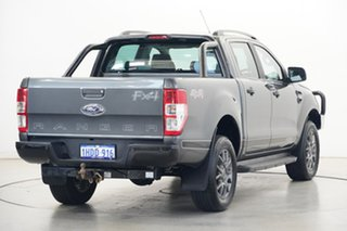 2017 Ford Ranger PX MkII FX4 Double Cab Grey 6 Speed Manual Utility