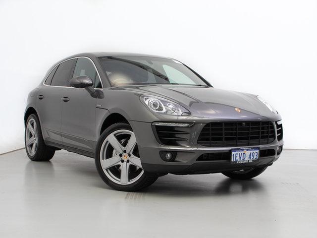 Used Porsche Macan MY16 S Diesel, 2015 Porsche Macan MY16 S Diesel Grey 7 Speed Auto Dual Clutch Wagon