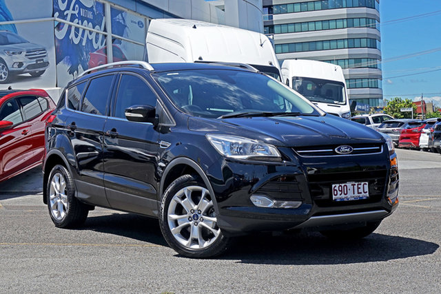 Used Ford Kuga TF Trend PwrShift AWD Springwood, 2013 Ford Kuga TF Trend PwrShift AWD Black 6 Speed Sports Automatic Dual Clutch Wagon