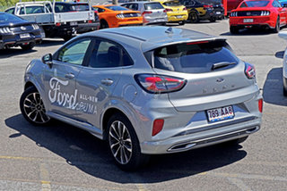 2020 Ford Puma JK 2020.75MY ST-Line V Silver 7 Speed Sports Automatic Dual Clutch Wagon
