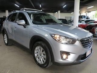 2016 Mazda CX-5 KE1032 Maxx SKYACTIV-Drive i-ACTIV AWD Sport Silver 6 Speed Sports Automatic Wagon.
