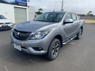 2015 Mazda BT-50 UR0YF1 XTR Silver 6 Speed Sports Automatic Utility.