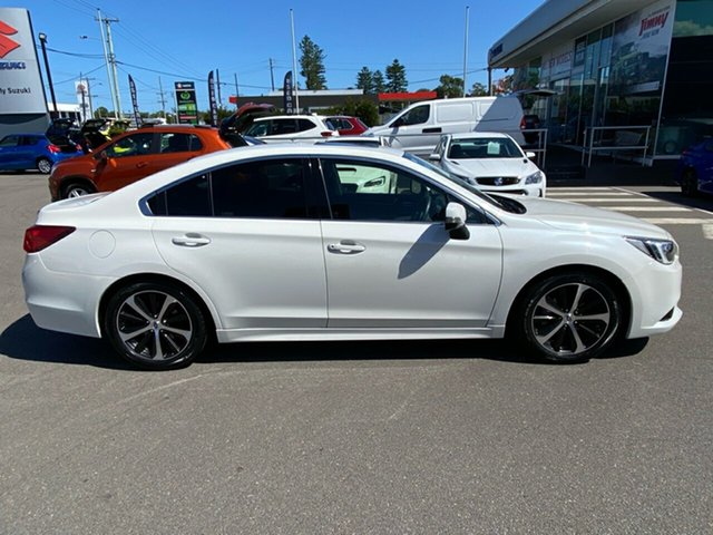 Used Subaru Liberty B6 MY15 2.5i CVT AWD Premium Cardiff, 2015 Subaru Liberty B6 MY15 2.5i CVT AWD Premium White 6 Speed Constant Variable Sedan