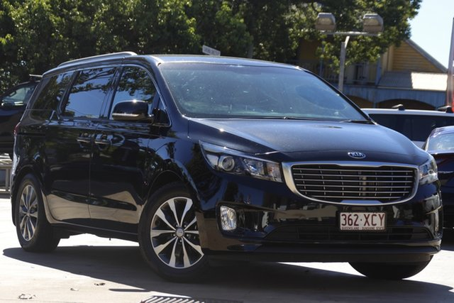 Used Kia Carnival YP MY17 SLi Toowoomba, 2017 Kia Carnival YP MY17 SLi Black 6 Speed Sports Automatic Wagon