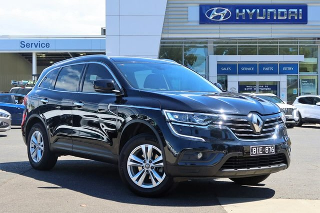 Used Renault Koleos HZG Life X-tronic South Melbourne, 2017 Renault Koleos HZG Life X-tronic Black 1 Speed Constant Variable Wagon