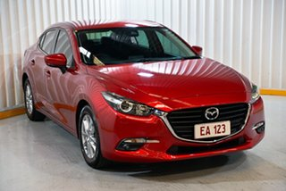 2016 Mazda 3 BM5278 Touring SKYACTIV-Drive Red 6 Speed Sports Automatic Sedan