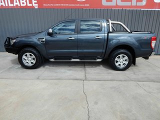 2013 Ford Ranger PX XLT Double Cab Grey 6 Speed Sports Automatic Utility