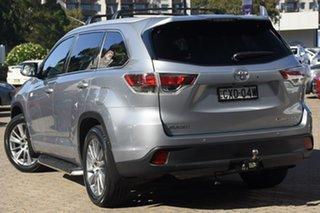 2014 Toyota Kluger GSU55R Grande (4x4) Silver 6 Speed Automatic Wagon.