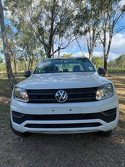 2020 Volkswagen Amarok 2H MY21 TDI420 4MOTION Perm Core Candy White 8 Speed Automatic Utility.