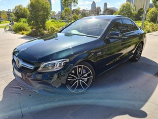 2019 Mercedes-Benz C-Class W205 800MY C43 AMG 9G-Tronic 4MATIC Green 9 Speed Sports Automatic Sedan