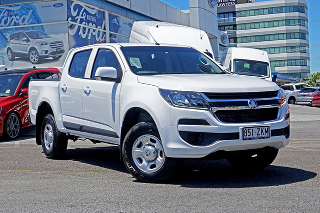 Used Holden Colorado RG MY19 LS Pickup Crew Cab 4x2 Springwood, 2019 Holden Colorado RG MY19 LS Pickup Crew Cab 4x2 White 6 Speed Sports Automatic Utility