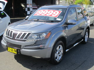 2012 Mahindra XUV500 (AWD) Grey 6 Speed Manual Wagon.