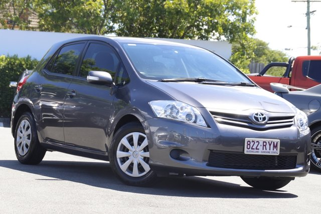 Used Toyota Corolla ZRE152R MY11 Ascent Mount Gravatt, 2011 Toyota Corolla ZRE152R MY11 Ascent Grey 4 Speed Automatic Hatchback