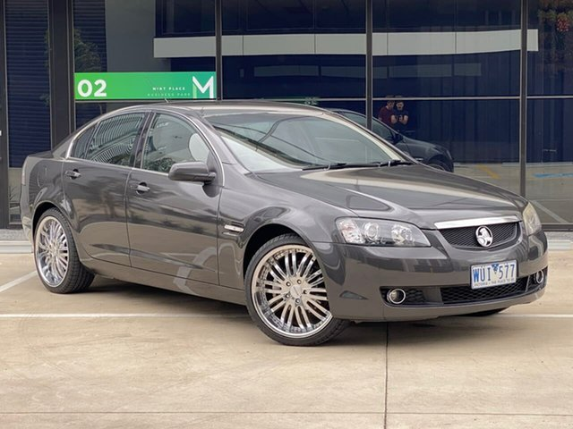 Used Holden Calais VE MY08.5 Templestowe, 2008 Holden Calais VE MY08.5 Grey 5 Speed Sports Automatic Sedan