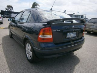 2002 Holden Astra TS CD Blue 4 Speed Automatic Hatchback
