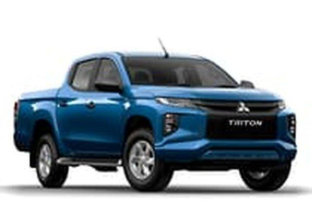 Demo Mitsubishi Triton Liverpool, GLX+ 2.4l TDsl Man 4x4 D-Cab Ute