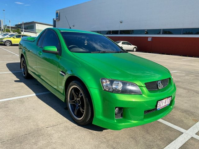 Used Holden Commodore VE SV6 Morayfield, 2007 Holden Commodore VE SV6 Green 6 Speed Manual Utility