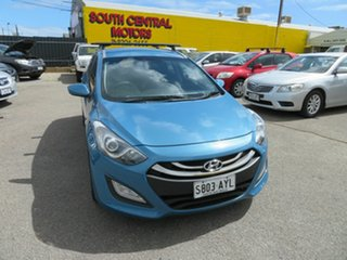 2013 Hyundai i30 GD Tourer Active 1.6 CRDi Blue 6 Speed Automatic Wagon.