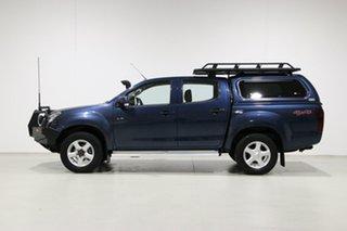 2014 Isuzu D-MAX TF MY14 LS-M HI-Ride (4x4) Blue 5 Speed Automatic Crew Cab Utility