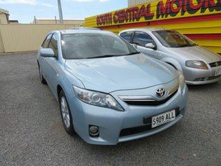 2010 Toyota Camry AHV40R Hybrid Blue Continuous Variable Sedan.