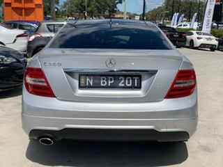 2012 Mercedes-Benz C-Class W204 MY13 C250 BlueEFFICIENCY 7G-Tronic + Elegance Silver 7 Speed.