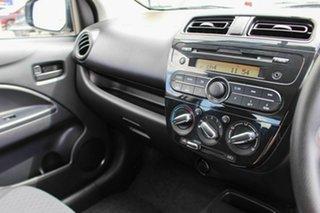 2017 Mitsubishi Mirage LA MY18 ES White 1 Speed Constant Variable Hatchback