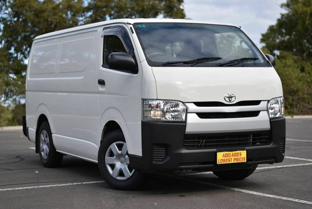 Used Toyota HiAce KDH201R LWB Enfield, 2017 Toyota HiAce KDH201R LWB White 4 Speed Automatic Van