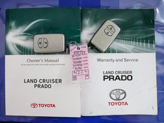 2014 Toyota Landcruiser Prado KDJ150R MY14 Kakadu (4x4) White 5 Speed Sequential Auto Wagon