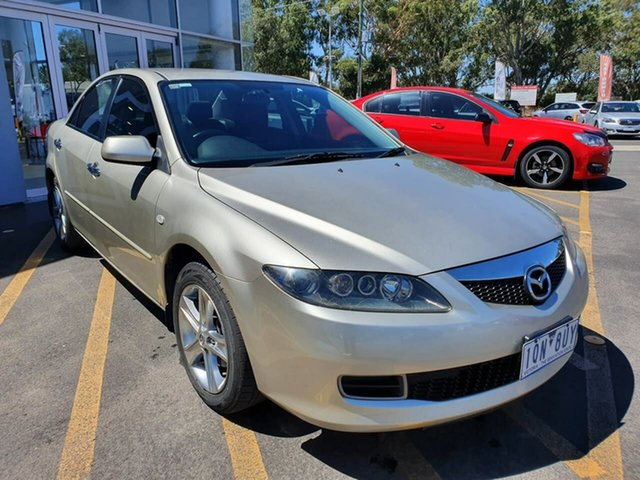 Used Mazda 6 GY1032 MY07 Sports Epsom, 2007 Mazda 6 GY1032 MY07 Sports Gold 5 Speed Automatic Wagon