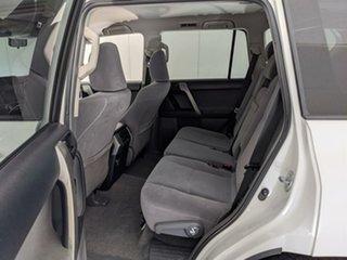 2011 Toyota Landcruiser Prado GRJ150R GXL White 5 Speed Sports Automatic Wagon