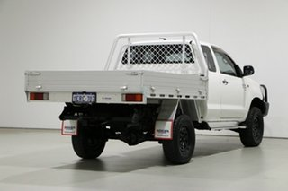 2015 Toyota Hilux KUN26R MY14 SR (4x4) White 5 Speed Manual X Cab Cab Chassis