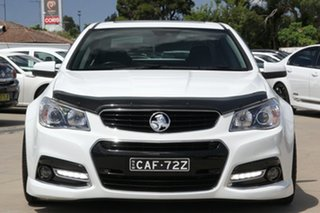 2014 Holden Commodore VF MY14 SS V Redline White 6 Speed Sports Automatic Sedan