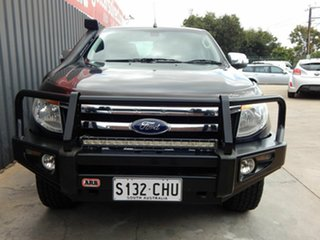 2013 Ford Ranger PX XLT Double Cab Grey 6 Speed Sports Automatic Utility.