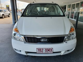 2013 Kia Grand Carnival VQ MY13 SI White 6 Speed Sports Automatic Wagon