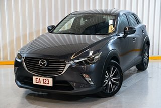 2017 Mazda CX-3 DK4W7A sTouring SKYACTIV-Drive i-ACTIV AWD Grey 6 Speed Sports Automatic Wagon.