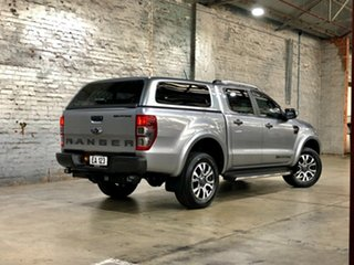 2019 Ford Ranger PX MkIII 2019.00MY Wildtrak Silver 10 Speed Sports Automatic Double Cab Pick Up