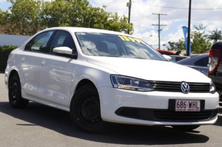 2011 Volkswagen Jetta 1KM MY10 118TSI DSG White 7 Speed Sports Automatic Dual Clutch Sedan.